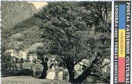 ANDORRA ANDORRE POSTAL 1955  PATRIMONI CULTURAL 41 - Andorre