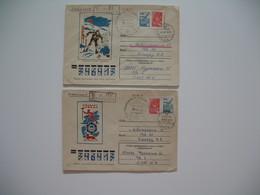 Lettre Explorations Polaires Russie  Opération Deep Freeze Antarctic Arctic South North Pole  à Voir - Machine Stamps (ATM)
