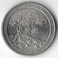 USA 2013D 25c Great Basin [C526/1D] - Federal Issues