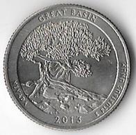 USA 2013D 25c Great Basin [C526/1D] - 2010-...: National Parks