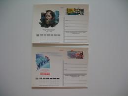 Carte Entier Russie Postal  Explorations Polaires  Opération Deep Freeze Antarctic Arctic South North Pole  à Voir - Machine Stamps (ATM)