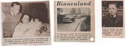 ST.TRUIDEN  JEF TERMONIA ACORDIONWEDSTRIJD..20.000e INWONER UYTTEBROECK  1956 ... MELVEREN SLACHTOFFERS TEN GRAVE GEDRA - Old Paper