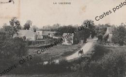 CPA [50] Manche > La Lucerne - Animée - Voiture à Cheval - Rare - France