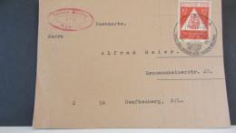 SBZ: Fern-Karte Mit 12+3 Pf Tag Der Briefmarke 1948 SSt. Apolda Vom 14.12.48 Bedarf! Knr: 228 - Sowjetische Zone (SBZ)