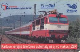TARJETA TELEFONICA DE SLOVAQUIA (CHIP). TRENES. (041) - Trains