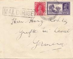 BRITISH-INDIEN 190? - 2 Fach Frankierung Auf Kleinen Brief - Indien (...-1947)