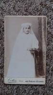 PHOTO DE DALMATIE PROUTEAU 1911 11 ANS  COMMUNION PHOTO COLLIN RUE DU PALAIS  SABLES D OLONNE FAMILLE DE L ABBE PROUTEAU - Personnes Identifiées