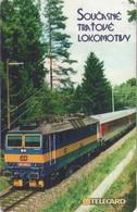 TARJETA TELEFONICA DE LA REP. CHECA (CHIP). TRENES. (042) - Trains