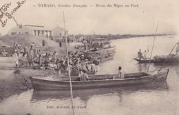 BAMAKO  - Soudan Français - Rives Du Niger Au Port - Mali