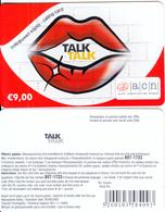 GREECE - Talk Talk, Altec Prepaid Card 9 Euro(without Cutting), Exp.date 30/06/05, Sample - Greece
