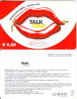 GREECE - Talk Talk, Altec Prepaid Card 9 Euro(without Cutting), Exp.date 31/07/04, Sample - Greece