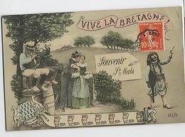 Vive La Bretagne - Souvenir De Saint MALO - ELD - Saint Malo
