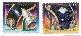 Latvia 2009 Europa  CEPT - Astronomy  - Used Stamps Full Set (o) - Latvia