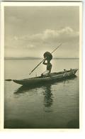 CP Pêcheur Photogr. Zagourski 1935? L'Afrique Qui Disparait 2 Congo Belge? - Non Classés