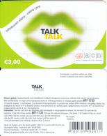 GREECE - Talk Talk, Altec Prepaid Card 3 Euro(without Cutting), Exp.date 30/06/05, Sample - Greece