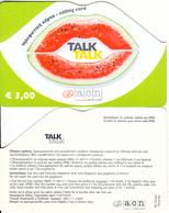 GREECE - Talk Talk, Altec Prepaid Card 3 Euro, Exp.date 31/07/04, Sample - Greece