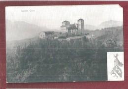TRENTO Castel Cles - HERALDRY COAT OF ARMS FORMATO PICCOLO NON VIAGGIATA NICK TO CORNER RIGHT - Trento