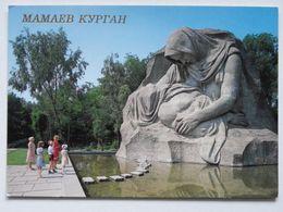 Stalingrad Battle Monument / Mamaia Barrow / Wolgograd / Russia / Mothers Grief - Guerre 1939-45