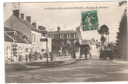 CPA Corbeilles Du Gatinais Route De Sceaux 45 Loiret - France