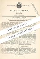Original Patent - Max Rossbach , Erfurt , 1883 , Fang- U. Auslöse-Mechanik Für Hosensteg   Hose , Hosen , Schneider !!! - Historical Documents