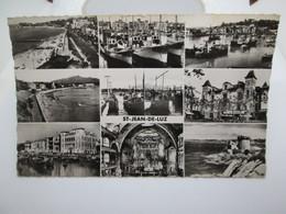 Carte Postale  SAINT JEAN DE LUZ      CPA Années 50  14x9 - Saint Jean De Luz