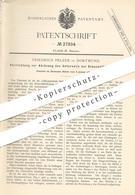 Original Patent - Friedrich Pelzer , Dortmund , 1884 , Ablösung Des Unterseils An Schachtförderung   Bergbau , Bergwerk - Historische Dokumente