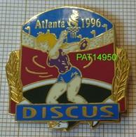 ATHLETISME LANCE Du DISQUE FEMININ DISCUS  JO ATLANTA 1996 - Athletics