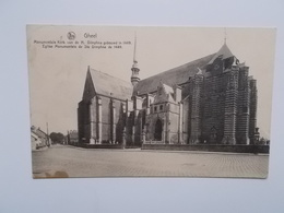 GHEEL, Monumentale Kerk Van De H. Dimphna Gebouwd In 1449, Kaart 1937 - Geel