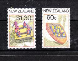 "Nuova Zelanda   - 1987.I Due Francobolli Della Serie "" Rafting "". MNH - Rafting"