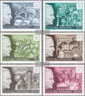 Vatikanstadt 1190-1195 (complete.issue.) Unmounted Mint / Never Hinged 1996 World Travel - Vatican