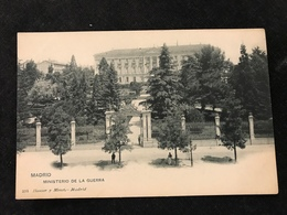 Madrid Ministerio De La Guerra  Avant 1900 Militaria - Madrid