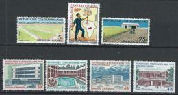 Centrafrique YT 169-175 XX / MNH - Centrafricaine (République)