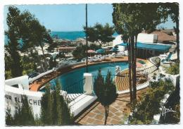 CPSM TOULON, LA TOUR BLANCHE, PISCINE, VUE SUR LA RADE, VAR 83 - Toulon