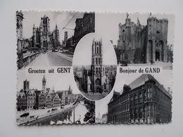 Groeten Ui GENT , Multi-zicht Kaart , 1969 - Gent