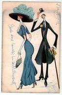 Couple // Fantaisie // Dessin De Caricature Série 1131 - Couples