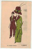 Illustrateur Aris Mertzanoff // Le Chapeau-Panier No.XIII - Naillod