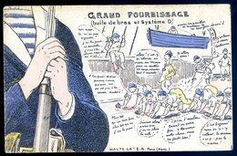 Cpa Militaria Halte Là Humour Grand Fourbissage Huile De Bras Et Système D  Sept18-01 - Umoristiche