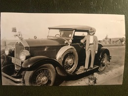 Photo Originale Vieille Automobile - Automobiles