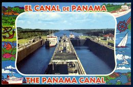 Cpsm El Canal De Panama -- The Panama Canal   Sept18-01 - Panama