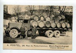 Camion Publicité Commerce Postel - Mont Saint Aignan