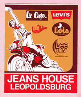 Sticker - Jeans House Leopoldsburg - Lee Cooper,Levi's,Lois,Lee Jeans - Stickers