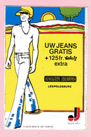 Sticker - Jeans House Leopoldsburg - Uw Jeans Gratis + 125 Fr.Valois Extra - Stickers