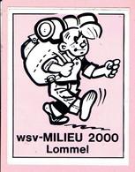 Sticker - WSV MILIEU 2000 - Lommel - Wandelclub - Stickers