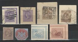 8 Ganzsachenausschnitte / Cuts From Postal Stationery South / Western Australia - Australia