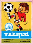 Sticker - Melosport - Herestraat 50,Weg Op Bokrijk - Zonhoven - Stickers