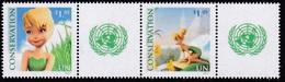 2012 - O.N.U. / UNITED NATIONS - NEW YORK - FOGLIO DI FRANCOBOLLI PERSONALIZZATI - TINKERBELL. MNH - New York – UN Headquarters