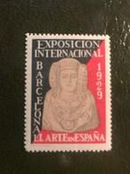 ESPAGNE Lot De 5 Vignettes ** Barcelone Exposition Internationale 1929 - Vignettes De Fantaisie