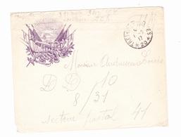 Lettre  En Franchise Militaire - Publicitaire - Byrrh - Marcophilie (Lettres)