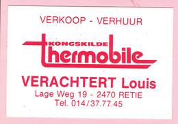 Sticker - Thermobile Kongskilde - Verachtert Louis - Lage Weg 19 RETIE - Stickers