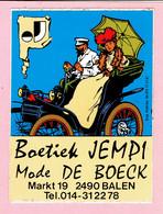 Sticker - Boetiek JEMPI - Mode DE BOECK - Markt BALEN - Stickers